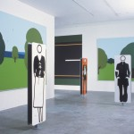Ikon Icon Julian Opie, Installation view of 2001 exhibition, courtesy the artist and Ikon