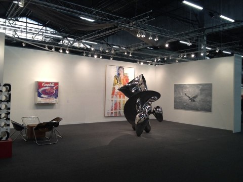 Lo stand di Thaddaeus Ropac all'Armory Show