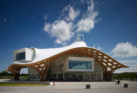 Shigeru Ban, Centre Pompidou-Metz, 2010 - photo Didier Boy de la Tour
