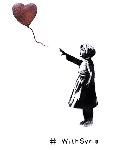 banksy - with syria