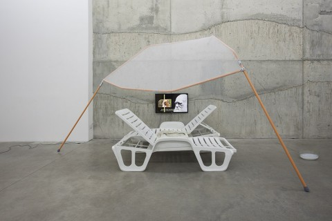Andrew Norman Wilson (feat. Nick Bastis), Group Therapy, 2014 - Courtesy Fluxia, Milano - photo Andrea Rossetti