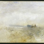William Turner, A Wreck, with Fishing Boats, 1840 ca. - © Tate