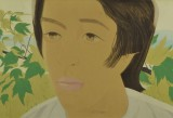 Alex Katz, Boy with Branch I