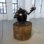 Bharti Kher, And all the while the benevolent slept, 2008