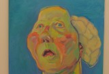 Maria Lassnig, Lady with brain, undated