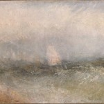 William Turner, Off the Nore: Wind and Water, 1840–45 ca. - © Yale Center for British Art, Paul Mellon Collection