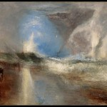 William Turner, Rockets and Blue Lights (close at Hand) to warn Steam-Boats of Shoal-Water, 1840 - © Sterling and Francine Clark Art Institute, Williamstown, Massachusetts, USA (photo by Michael Agee)