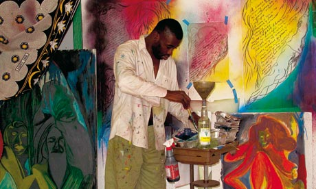 Chris Ofili - fonte: The Guardian