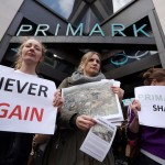 A Demonstration Is Held Outside Primark Flagship Store Over Bangladesh Factory Disaster