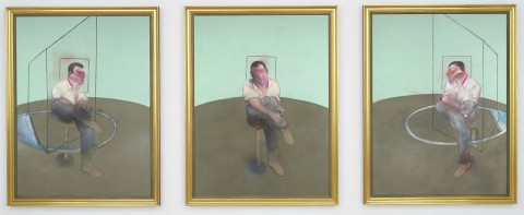 Francis Bacon - Three Studies for a Portrait of John Edwards
