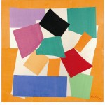 Henri Matisse, The Snail 1953 Gouache on paper, cut and pasted on paper mounted to canvas Tate© Succession Henri Matisse/DACS 2013