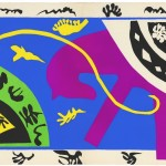 Henri Matisse, The Horse, the Rider, and the Clown 1943-4 Maquette for plate V of the illustrated book Jazz 1947© Centre Pompidou, MNAM-CCI,  Dist. RMN-Grand Palais / Jean-Claude Planchet © Succession Henri Matisse/DACS 2013
