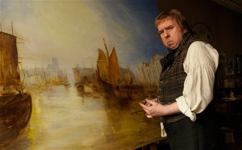 Timothy Spall nel film Mr Turner di Mike Leigh