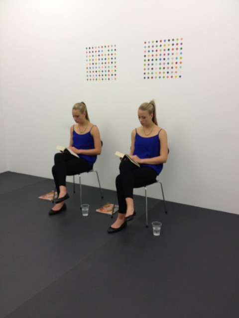 14 rooms - damien hirst