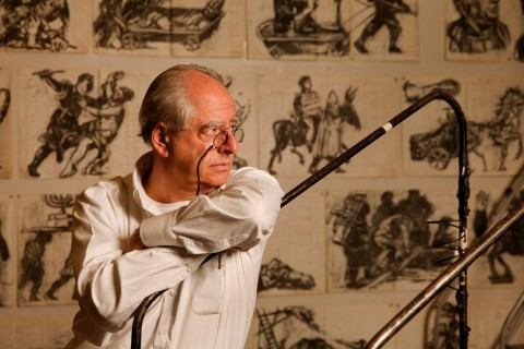 William Kentridge - Photo Thys Dullaart (2014).