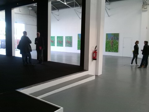 Ann Craven in mostra a Poitiers