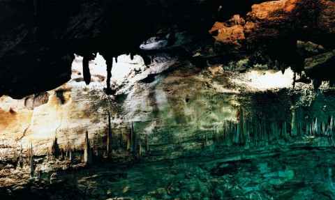Axel Hütte, Underworld 3 - USA, serie Caves, 2008