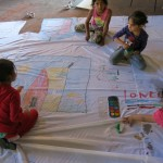 Despina Charitonidi_  intervento per il progetto HOME al MAAM work in progress_lab con piccoli abitanti di Metropoliz