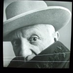 Irving Penn, Picasso (1 of 6), Cannes, France, 1957.