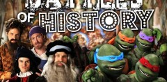 Artists vs TMNT. Epic Rap Battles of History