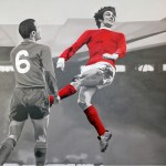Chris Beas, And Number One Was Georgie Best, 2013. Courtesy of the artist and Martha Otero Gallery