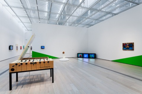 Fútbol: The Beautiful Game, panoramica della mostra al LACMA
