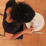 Haleh Jamali (in collaboration between with Monica De Ioanni), Feed, 2012, 3'39''+7'15'', Loop, HD, stereo, color, video still 3