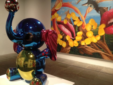 Jeff Koons, Whitney Museum, New York