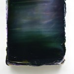 Lev Khesin, Osiop, 2014, 63,5x52,5cm,  Silicone, Pigments on Aluminium and Honeycomb Cardboard Plate