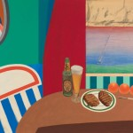 Tom Wesselmann Still LIfe #8, 1962 mixed media and collage on board 42 x 48 inches Copyright: Estate of Tom Wesselmann/Licensed by VAGA, NY, NY. Photo Credit: Jeffrey Sturges.
