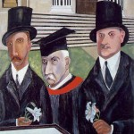 Ben Shahn, The Passion of Sacco and Vanzetti, 1931-32, Tempera on canvas