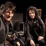 Ronnie Wood e Alice Cooper