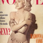 Cover vogue Italia February 1991 by Steven Miesel
