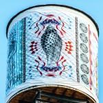 Cisterna d'artista a West Broadway © The Water Tank Project