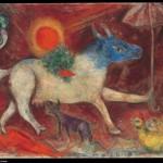 Cow with a Parasol, 1946. Oil on canvas, 32 x 42 1/2 in. (81.3 x 108 cm). Bequest of Richard S. Zeisler, 2007 (2007.247.3).