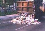 One Ton Of Books Dumped On Reform Avenue, di Anibal Lòpez