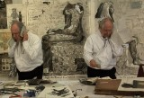 Un'opera di William Kentridge