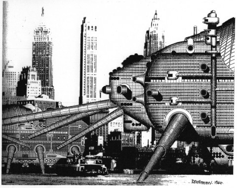 Archigram, Walking City
