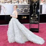 Amy Adams in Oscar de la Renta - Oscar 2013