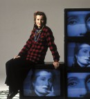 Elfriede Jelinek - ritratto di Karin Rocholl, 2004 - credit Picture Press Bild