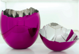 eff Koons, Cracked Egg (Magenta), 1994-2006