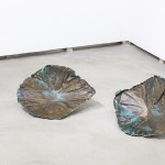 Karthik Pandian_Untitledpair_front, 2014_Bronze_47x36x11cm_photo Andrea Rossetti_Courtesy Federica Schiavo Roma