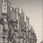 Maurits Cornelis Escher – Tropea, Calabria, 1931. Collezione Federico Giudiceandrea © 2014 The M.C. Escher Company. All rights reserved