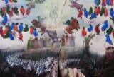 Thomas Braida, Armageddon, 2012, oil on canvas, 187 x 222 cm Courtesy the artist and Monitor, Roma