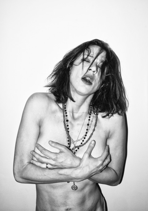 the eyes can see what the mouth can not say - Asia Argento