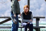 Kristen Stewart e Julianne Filming in Still Alice
