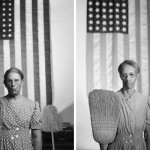 Gordon Parks - American Gothic, Washington, D.C. (1942) - by Sandro Miller, 2014