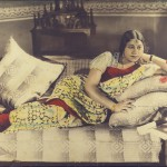 A Lady on the couch with a telephone, Commercial Photographer, c. 1920-40, The Alkazi Collection of Photography