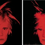 Andy Warhol - Self Portrait (Fright Wig) (1986) - by Sandro Miller, 2014