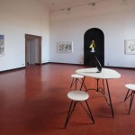 Charles Avery, What's so great about Happiness – The people and things from Onomatopoeia - Part 2, installation view @ Studio SALES di Norberto Ruggeri courtesy Studio SALES di Norberto Ruggeri, Roma (2)